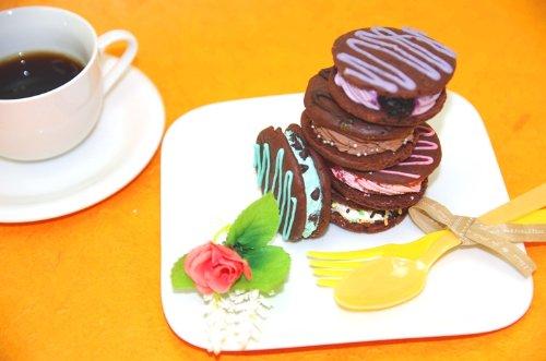 ベティーズ・ニューヨーク ウーピーパイ5個 Aセット(レインボー、キャラメルマキアート、ショコラ、抹茶、チョコミント)