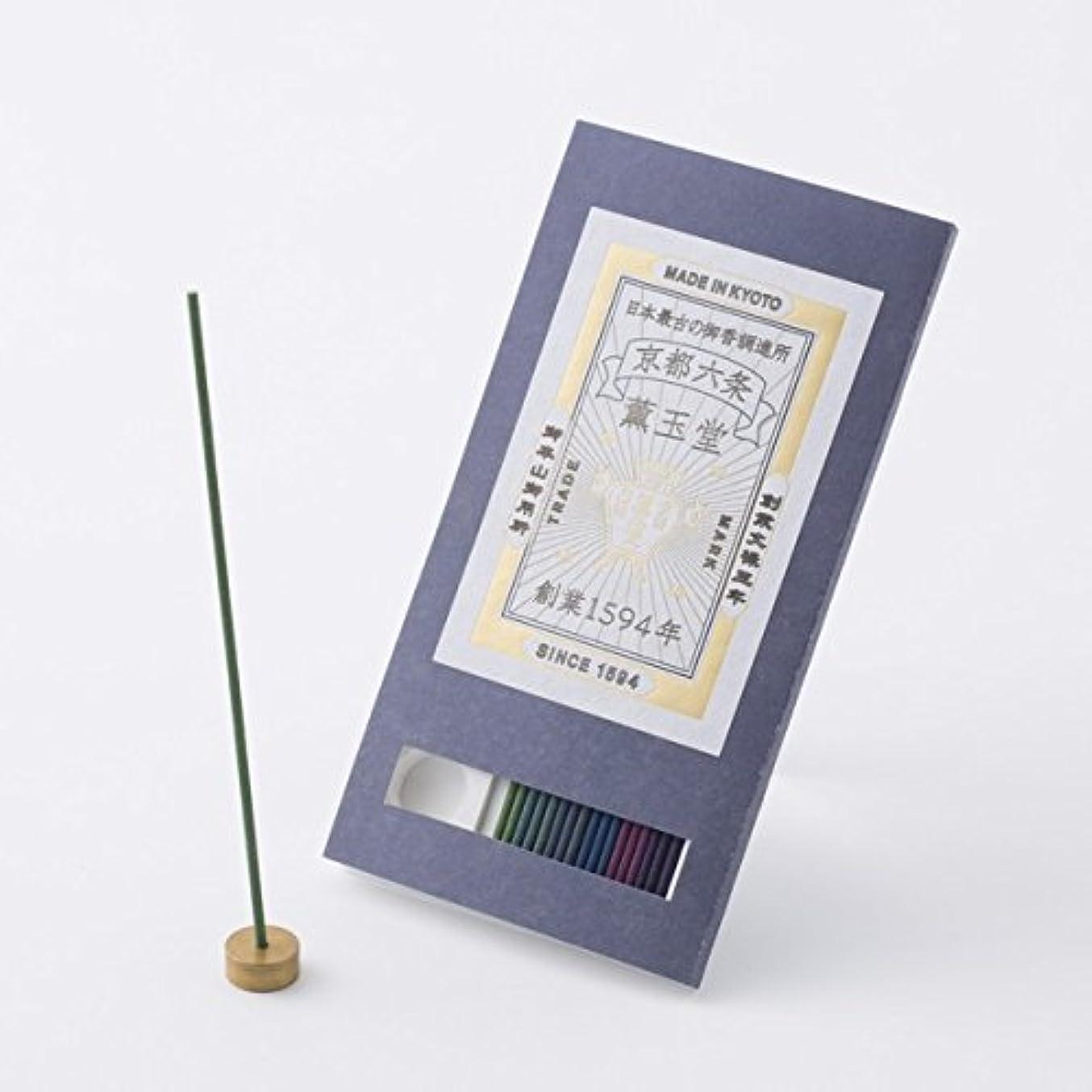切るジャンク爆弾【薫玉堂】 京の香り 試香 藍