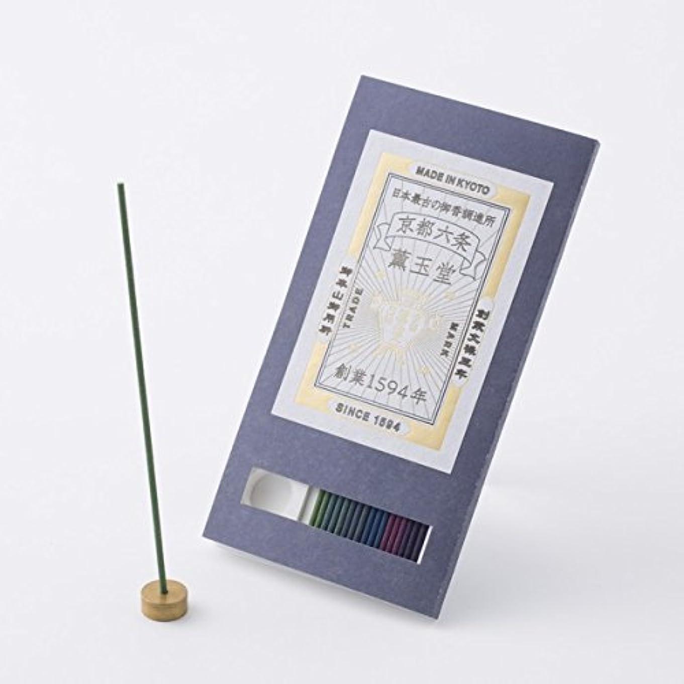 拍手エスニックダーリン【薫玉堂】 京の香り 試香 藍