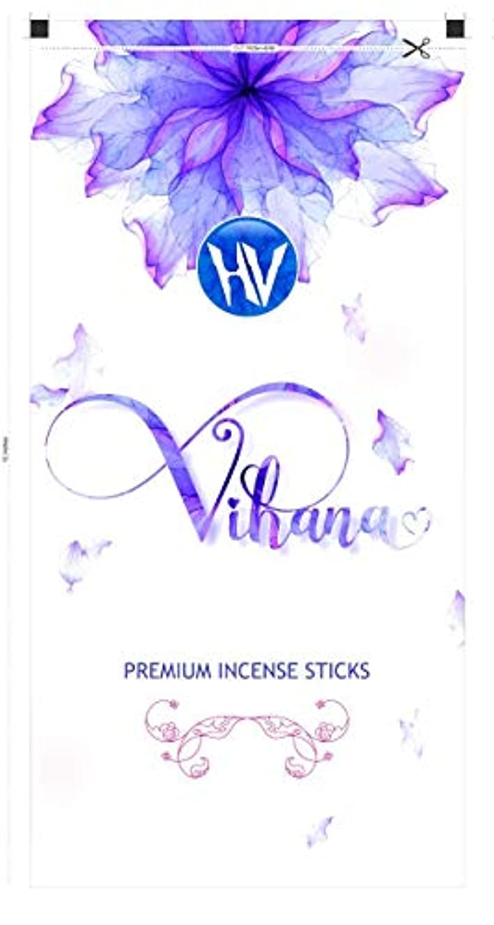 トラクター発掘ワットHV Vihana Incense Incense Sticks (Agarbatti) Zipper Pouch 140g (Pack of 6)