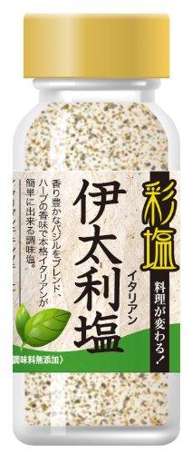 彩塩 伊太利塩 瓶68g