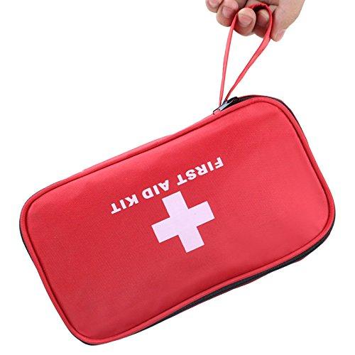 Sunhel ファーストエイドキット 救急セット 応急処置キット 63-180点救急バッグ多機能 応急処置セット 家庭 職場 学校 アウトドア 登山 アウトドア 旅行 非常時用 (180)