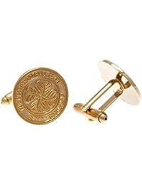 Celtic F.C. Gold Plated Cufflinks