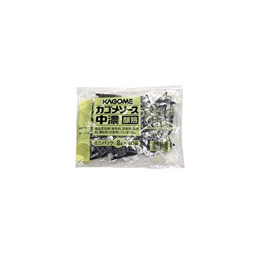 中濃ソースレストラン用ミニ 8g ×40袋 /カゴメ(2缶)