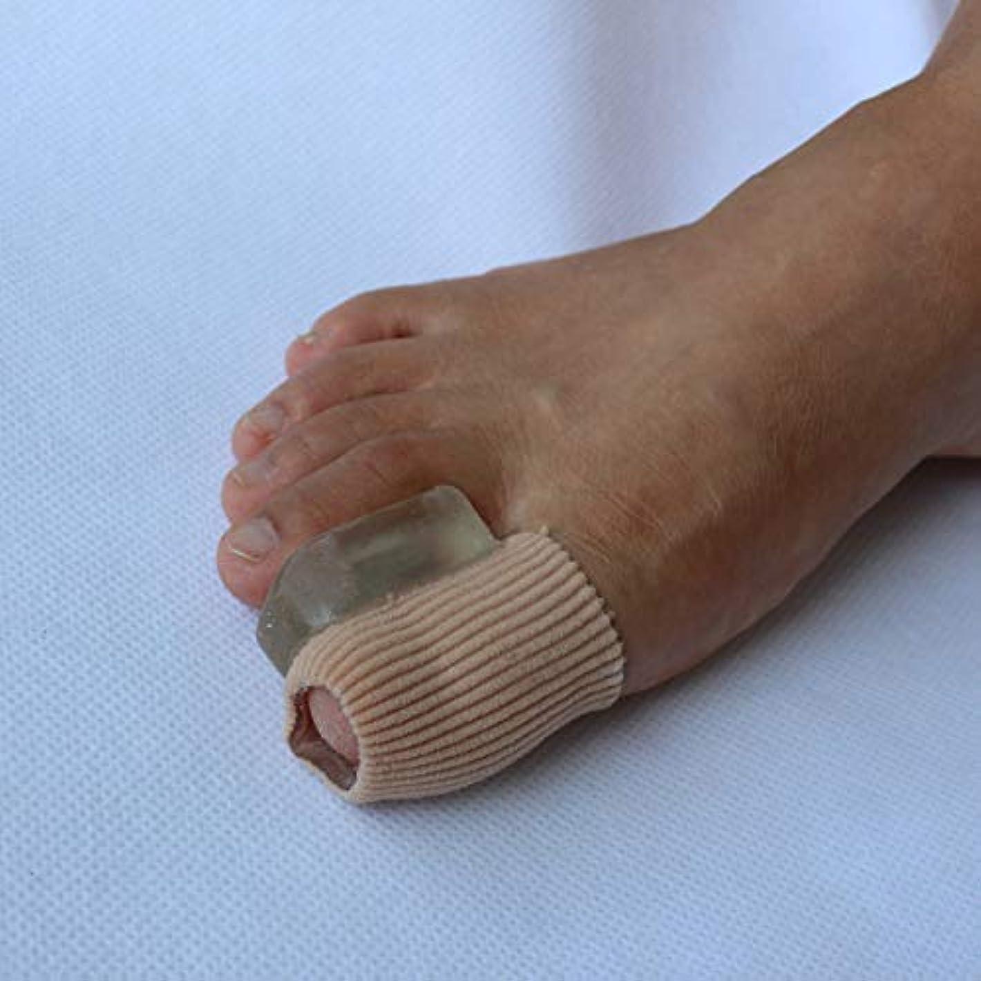 後ろにルーム感情Gel Toe Separators Bunion Corrector for Overlapping Toe Fabric Toe Spacers with Soft Gel Lining for Hallux Valgus