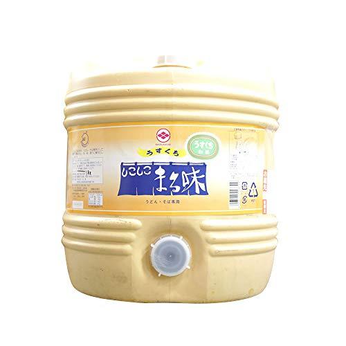 【業務用】スイートキッチン 丸菱 うどんそば専用 しこしこ まる味 醤油(淡口)1800ml 18L