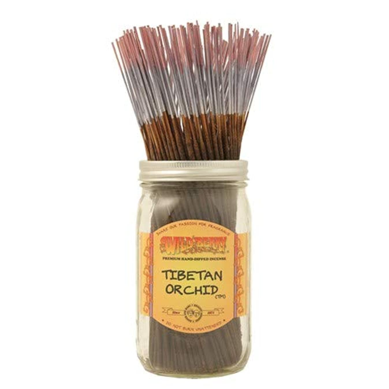 チベットOrchid – 1 x 100ワイルドベリーIncense Sticks