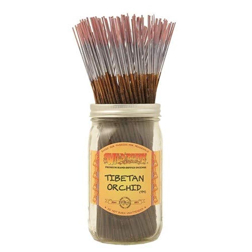 悔い改める教育者ばかげているチベットOrchid – 1 x 100ワイルドベリーIncense Sticks