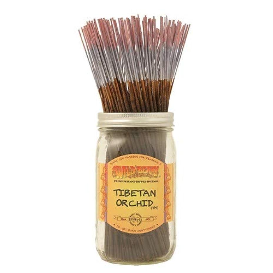 くしゃみ昼寝昼寝チベットOrchid – 1 x 100ワイルドベリーIncense Sticks