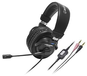 audio-technica 密閉型ヘッドホン ステレオヘッドセット ブラック ATH-770COM