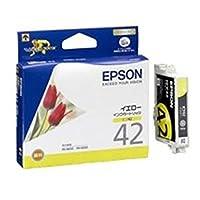 - 業務用40セット - / EPSON/エプソン/インクカートリッジ/純正 / - ICY42 - / イエロー - 黄 -