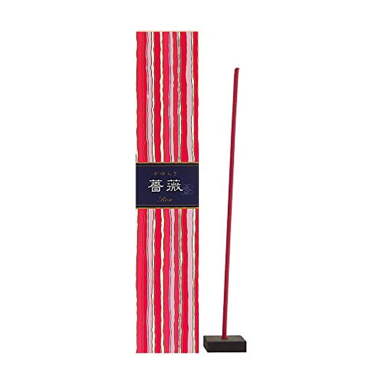 把握連隊円形のNippon Kodo – Kayuragi – ローズ40 Sticks