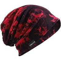PGTen Men's Slouchy Beanie Summer Thin Skull Cap Baggy Oversize Knit Hat