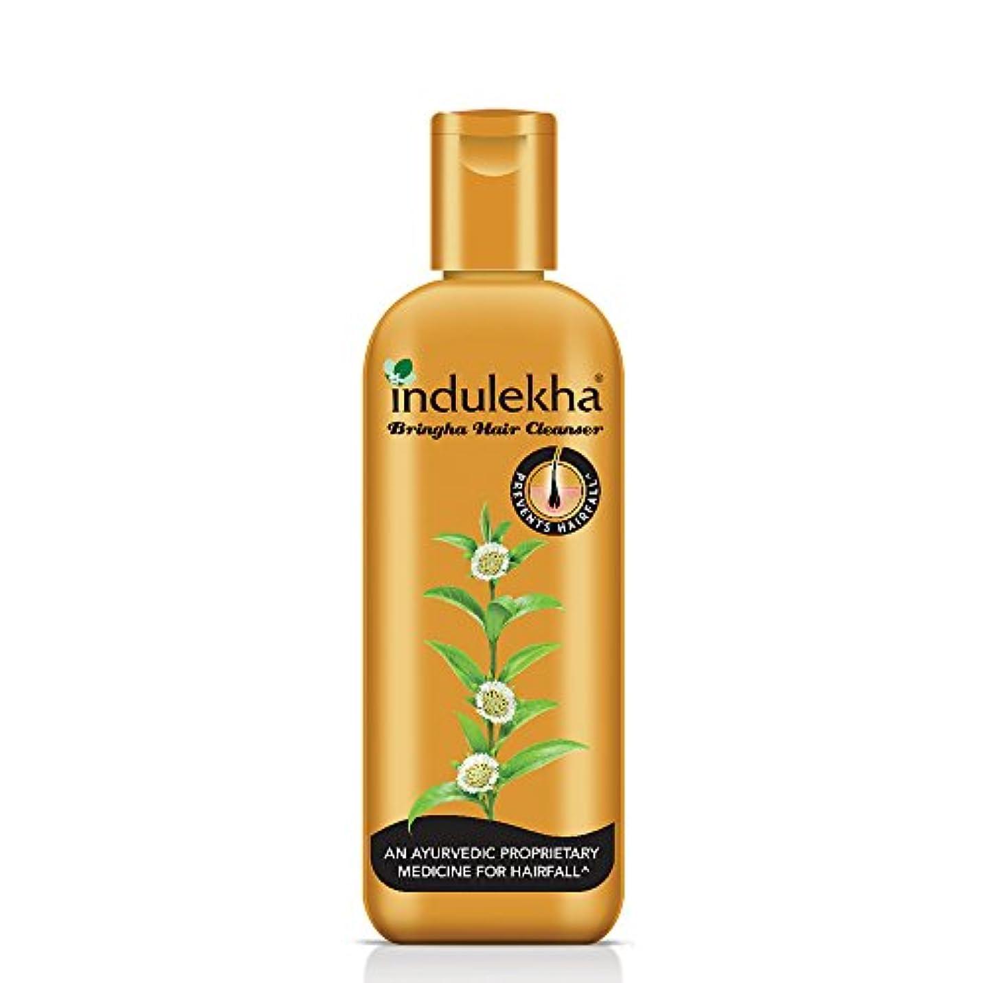 商標割り込み逆説Indulekha Bringha Anti Hair Fall Shampoo (Hair Cleanser) 200ml, 6.76 oz - 並行輸入品 - イニディカ?ブリンガアンチヘアフォールシャンプー(ヘアクレンザー...
