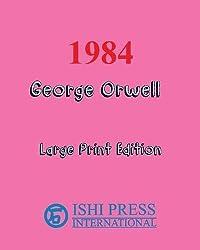 1984 George Orwell - Large Print Edition