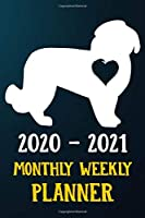 2020 2021 Monthly Weekly Planner: Maltese Puppy Dog 2020 2021 Monthly Weekly Daily Planner Calendar Schedule Organizer Appointment Journal Notebook For Maltese Dog Owners and Puppy Lovers