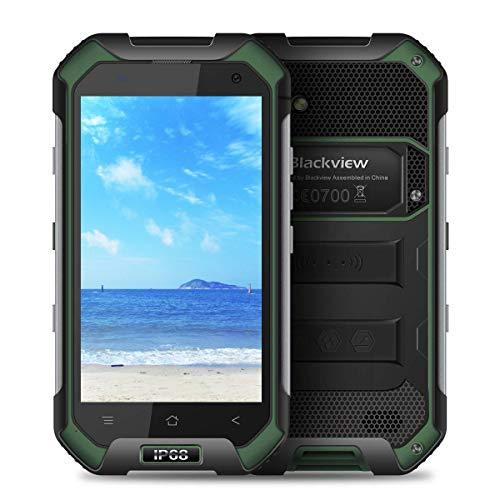 Blackview BV6000防水スマートフォンIP68ゴリラガラス3耐衝撃防塵Android 6.0 3GB RAM 32GB ROM 4.7インチ屋外モバイル携帯電話Green by Blackview (緑)