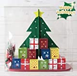 【カルディ限定】アドベントカレンダー ウッドボックス カウントダウンカレンダー 木製ツリー クリスマスツリー