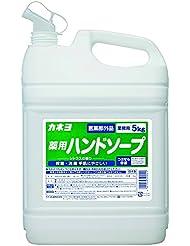 【大容量】 カネヨ石鹸 薬用ハンドソープ 液体 業務用 5kg