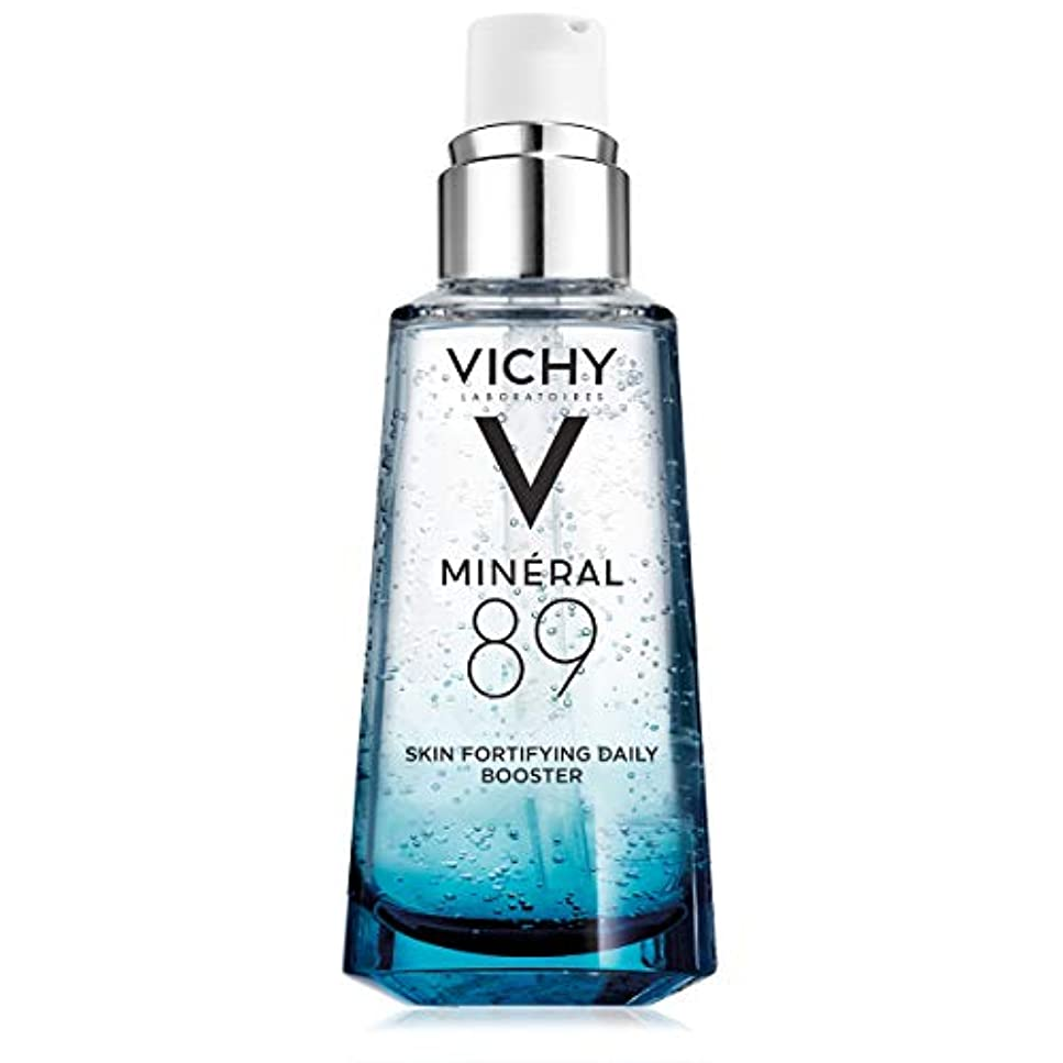 シルク蓋シネウィVichy Mineral 89 Fortifying, Hydrating & Plumping Daily Skin Booster, Face Moisturizer with Hyaluronic Acid, 1.67...