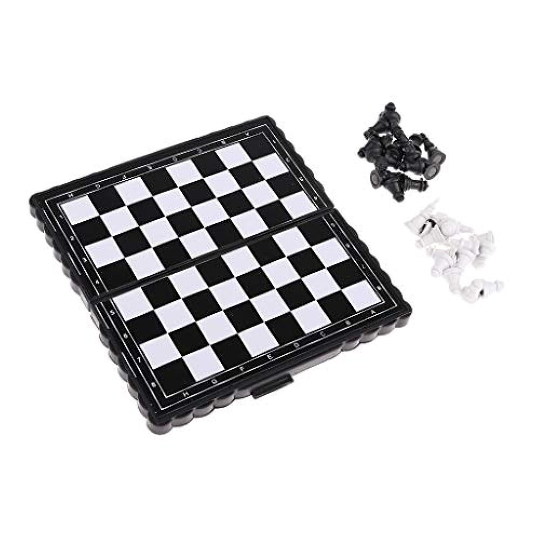 perfk プラスチック 国際チェス チェスピース チェスボード チェスセット