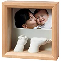 Baby Art My Baby Sculpture Frame (Honey) by Baby Art