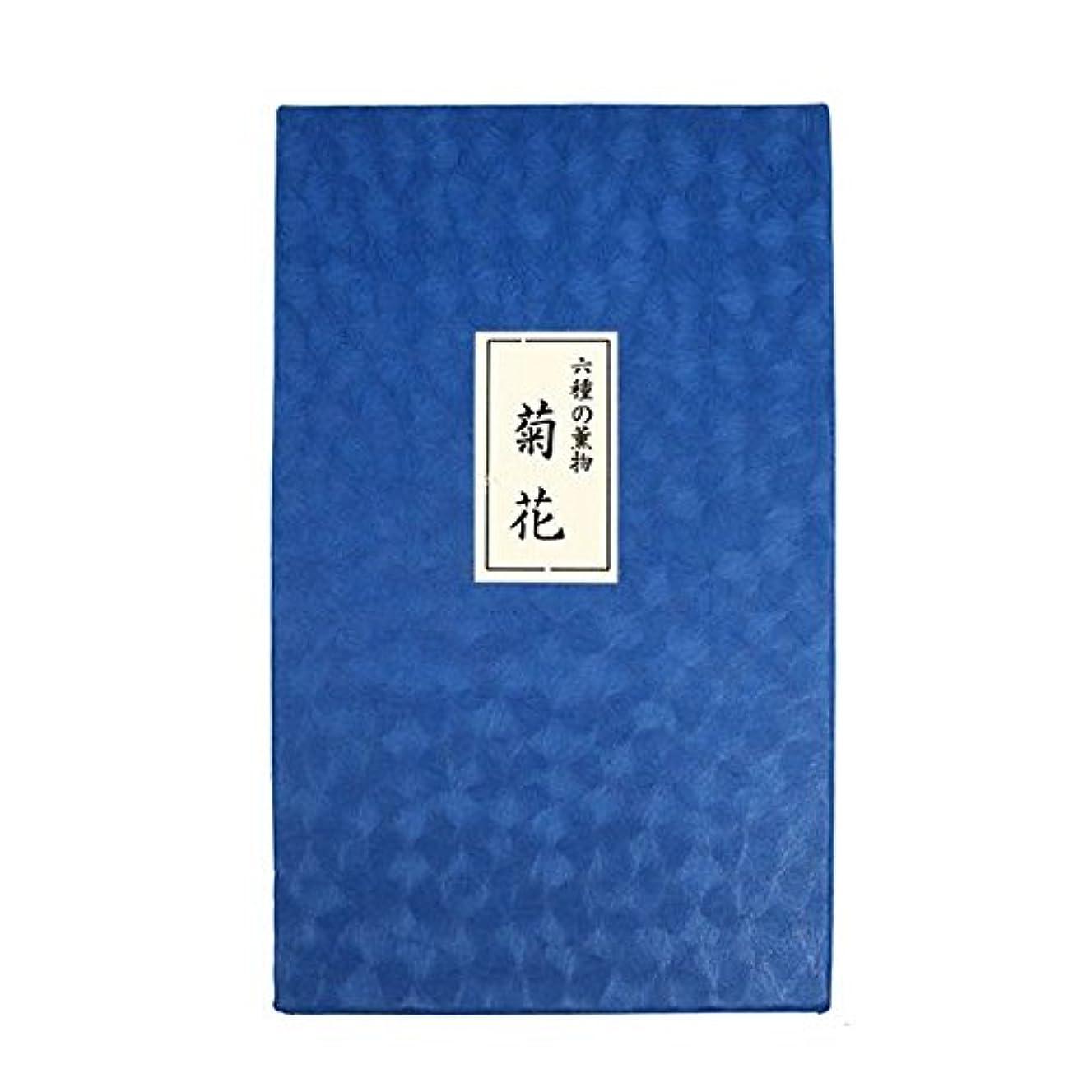 六種の薫物 菊花 貝入畳紙包 紙箱入