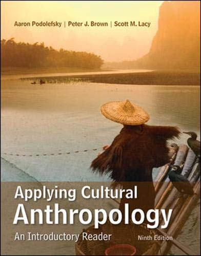 Download Applying Cultural Anthropology: An Introductory Reader 0078117038