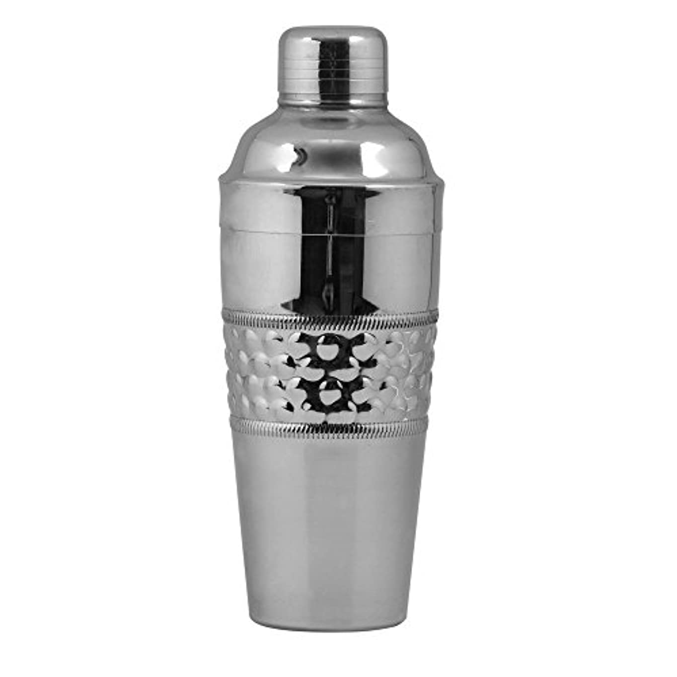 属性店員市の花Kosma Designer Cocktail Shakerステンレススチールdeluxe- 750 ml – (バブル効果) 750ml center シルバー KG-22057