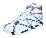 リーボック ランニングシューズ Reebok Kamikaze I Mid Mens Hi Top Sneakers [並行輸入品]