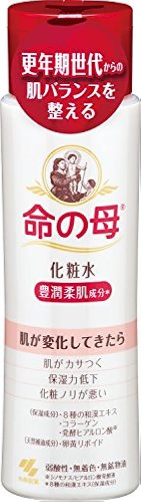 丁寧ニックネームうがい小林製薬 命の母 化粧水 180ml 更年期世代からの肌バランスを整える 豊潤柔肌成分