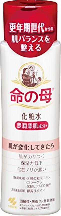 ペンス苗不良小林製薬 命の母 化粧水 180ml 更年期世代からの肌バランスを整える 豊潤柔肌成分