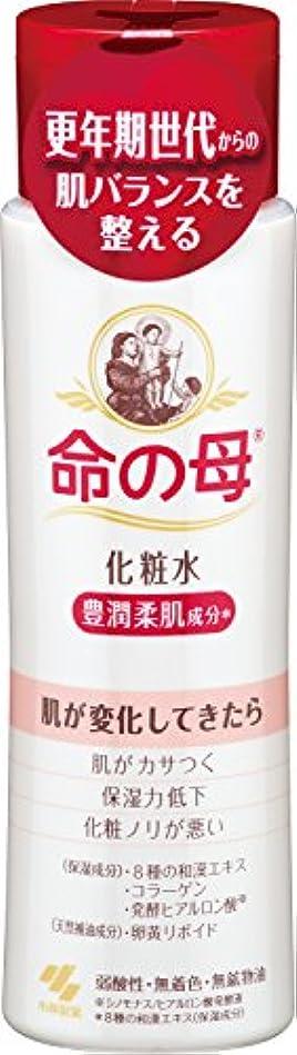 不利聖人木曜日小林製薬 命の母 化粧水 180ml 更年期世代からの肌バランスを整える 豊潤柔肌成分