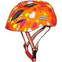 SunniMix 全4色選べ スポーツヘルメット 調節可能 3-9歳適用 運動護具 キッズ 屋外活動 スケート/自転車/スケートボード CE認定