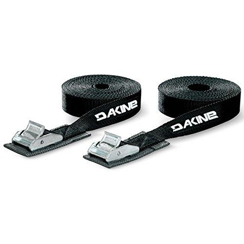 DAKINE(ダカイン) デッキパッド キャリア ストラップベルト 12' (2個 1セット) [ AI237-973/TIE DOWN STRAPS 12' ] サーフィン カー用品 ユニセックス AI237-973 BLK F