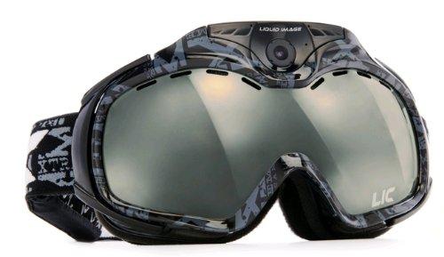 Liquid Image(リキッドイメージ) スノーボードゴーグル 【HD1080P スノービデオゴーグル】 Apex Series Snow Camera/Video Goggle 1080P HD ブラック 338BLK