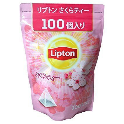 リプトン さくら ティーバッグ 100袋