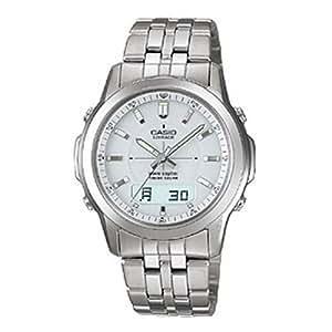 [カシオ]CASIO 腕時計 WAVE CEPTOR ウェーブセプター LINEAGE リニエージ チタンモデル ソーラー電波時計 LCW-100TDJ-7AJF メンズ