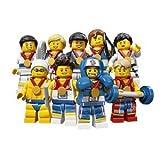 LEGO レゴ 8909 ロンドンオリンピック限定 TEAM GB 9体セットの画像