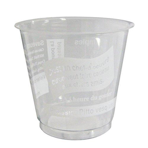 耐熱デザート容器 パティシエ白 210ml 1パック(40個)