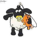 ひつじのショーン ラバーマスコットストラップアニメキャラクターグッズ通販/【ティミー 】