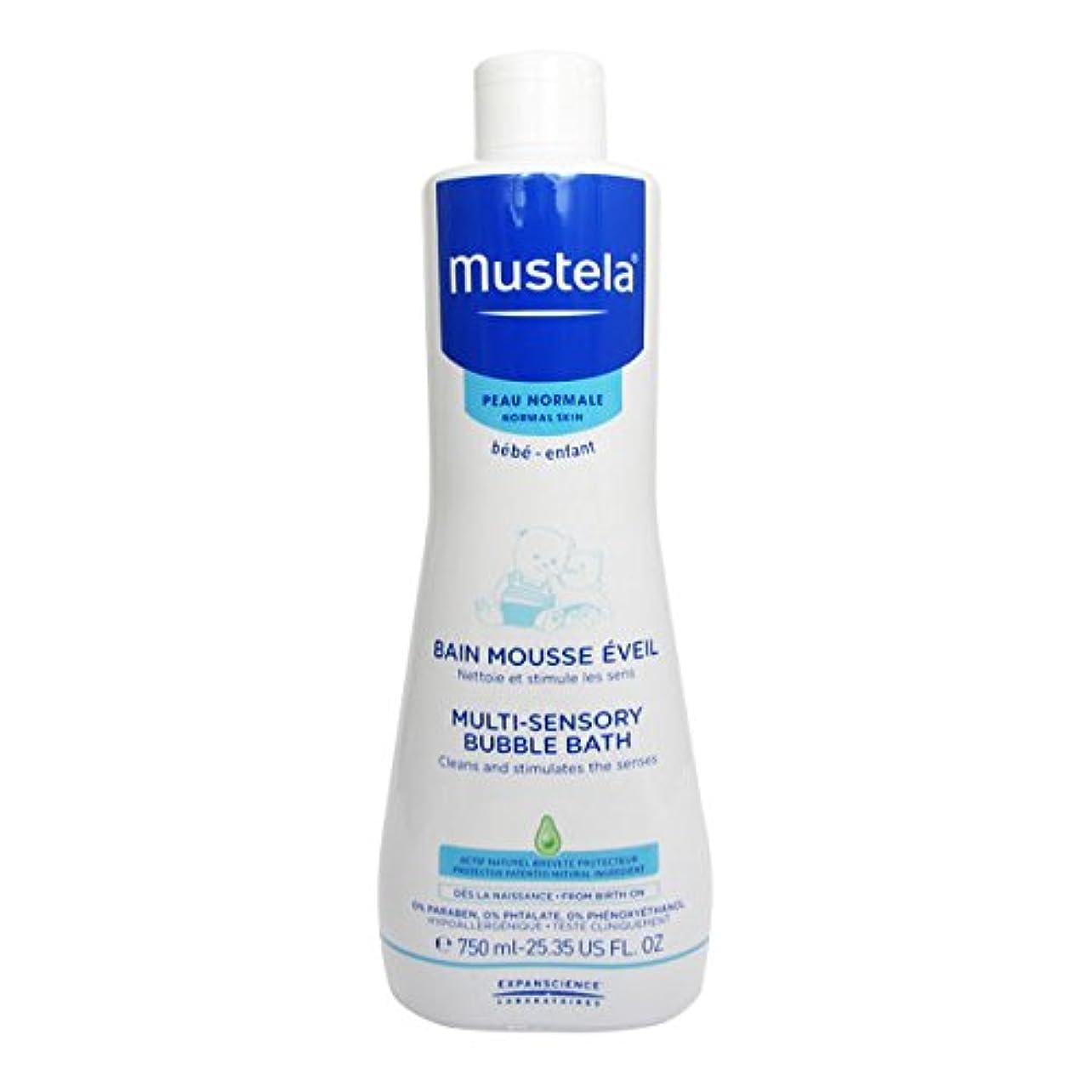 Mustela Multi-sensory Bubble Bath 750ml [並行輸入品]