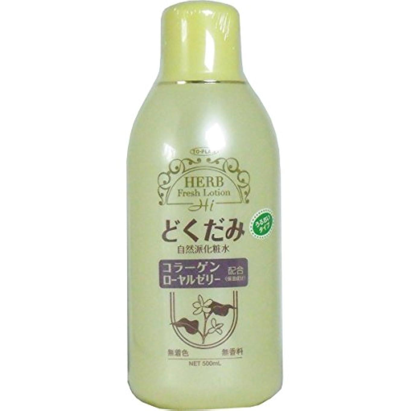 ご予約汚れるパラメータトプラン どくだみ化粧水 500ml (商品内訳:単品1個)