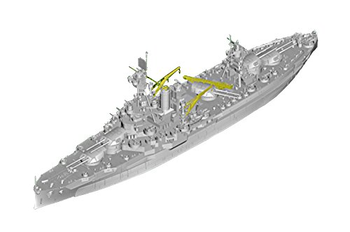 トランペッター 1/700 アメリカ海軍 戦艦 BB-34 ニューヨーク プラモデル 06711