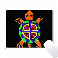 楽しいアステカスタイルのカメアート PC Mouse Pad パソコン マウスパッド