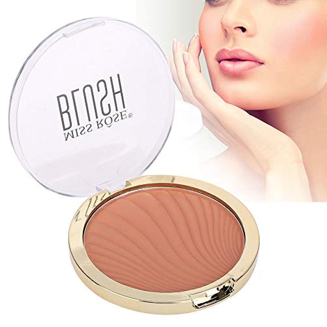 モノグラフクルールーチンRotekt 6 Colors Face Makeup Blusher Longlasting Waterproof Sweatproof Pretty Fairy Cosmetic 12g(04#)