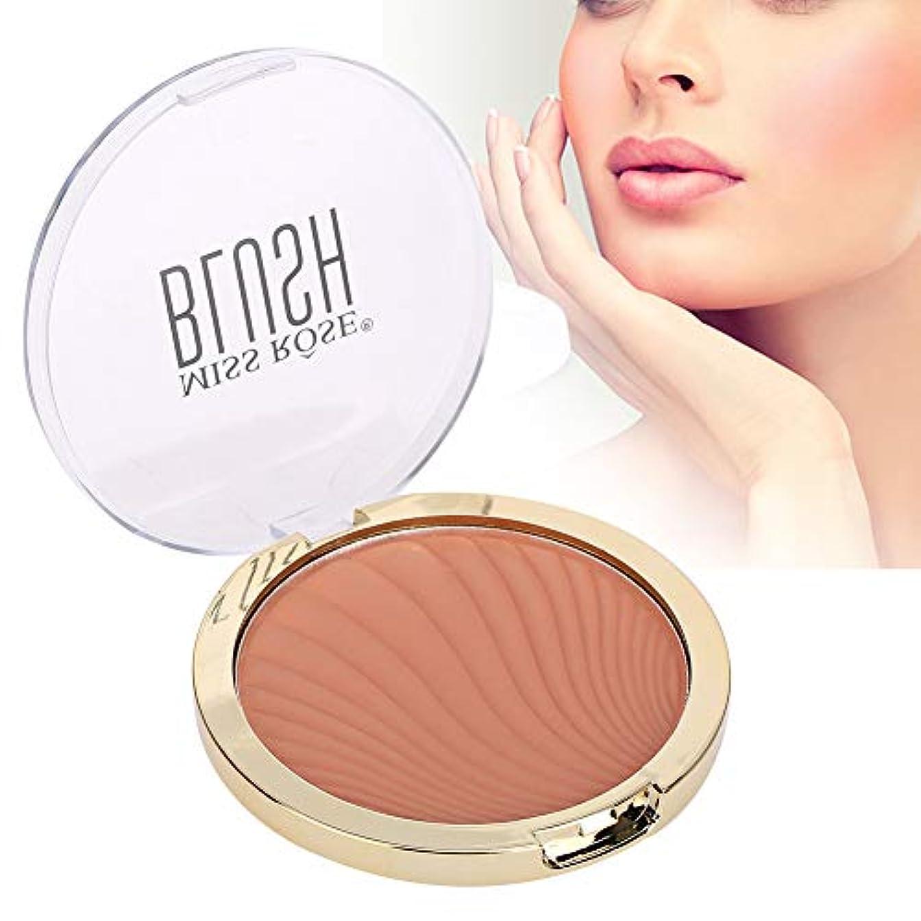 自治的減らすジョイントRotekt 6 Colors Face Makeup Blusher Longlasting Waterproof Sweatproof Pretty Fairy Cosmetic 12g(04#)