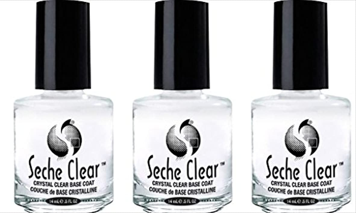 湿地暫定スプーン(3 Pack) SECHE Crystal Clear Base Coat (並行輸入品)