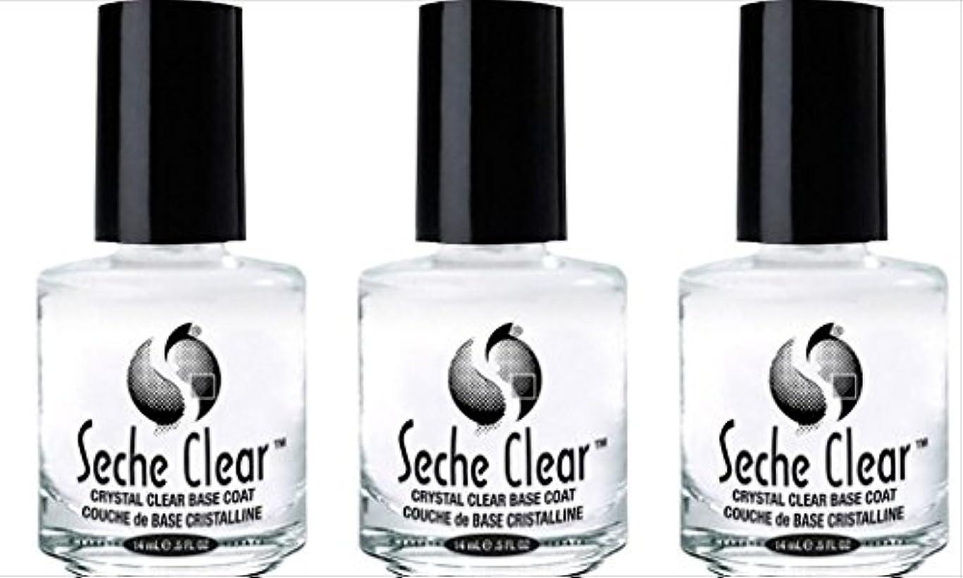 ジャムジョグフルーティー(3 Pack) SECHE Crystal Clear Base Coat (並行輸入品)