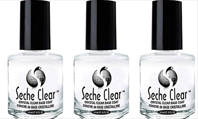 かんたん第五観光に行く(3 Pack) SECHE Crystal Clear Base Coat (並行輸入品)
